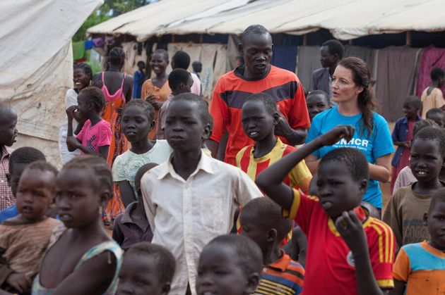 Kristin Davis Talks About The Refugee Crisis And Why Women Need A