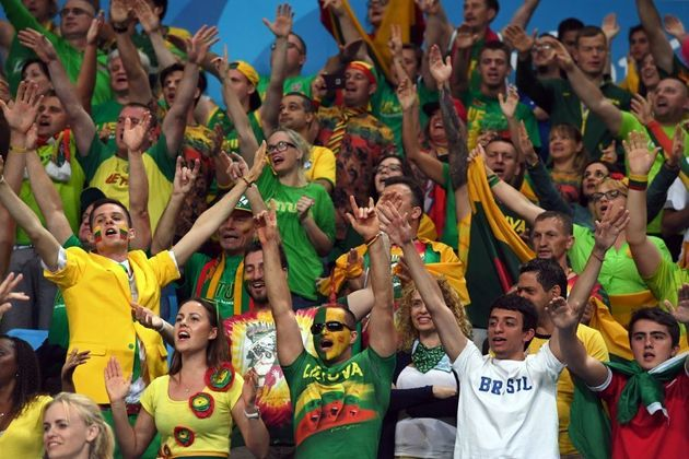 You know you've got passion when the Brazilian fans join you in