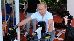 These Photos Show Man Of Action Vladimir Putin's PR Machine Has Jumped The