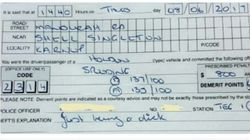 WA Cops Fine Speeding Driver For 'Just Being A