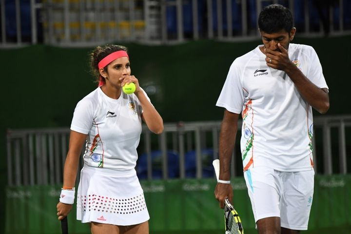 India's Sania Mirza and Rohan Bopanna got close in the Rio mixed doubles tennis, but lost the bronze medal match.