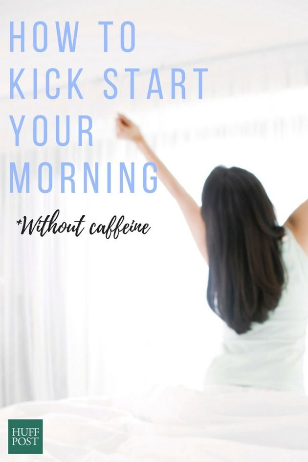 Caffeine-Free Ways To Kick Start Your