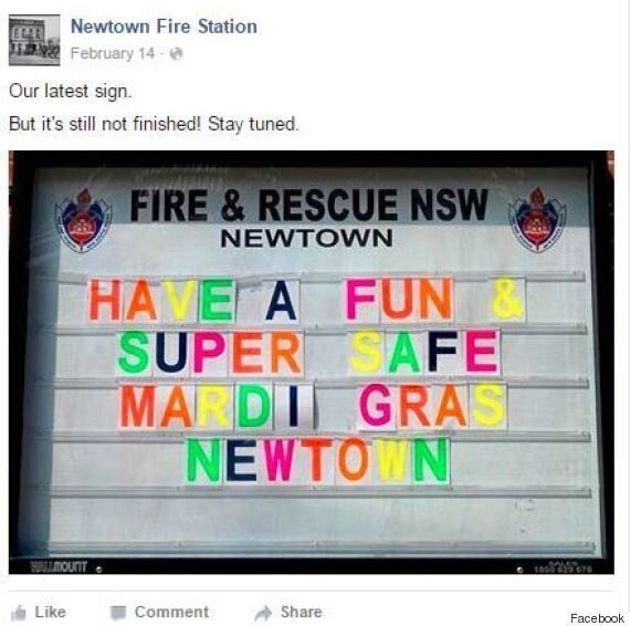 Newtown Fire Station Says Scrap Visa Checks, Relax And Watch Gayby Baby