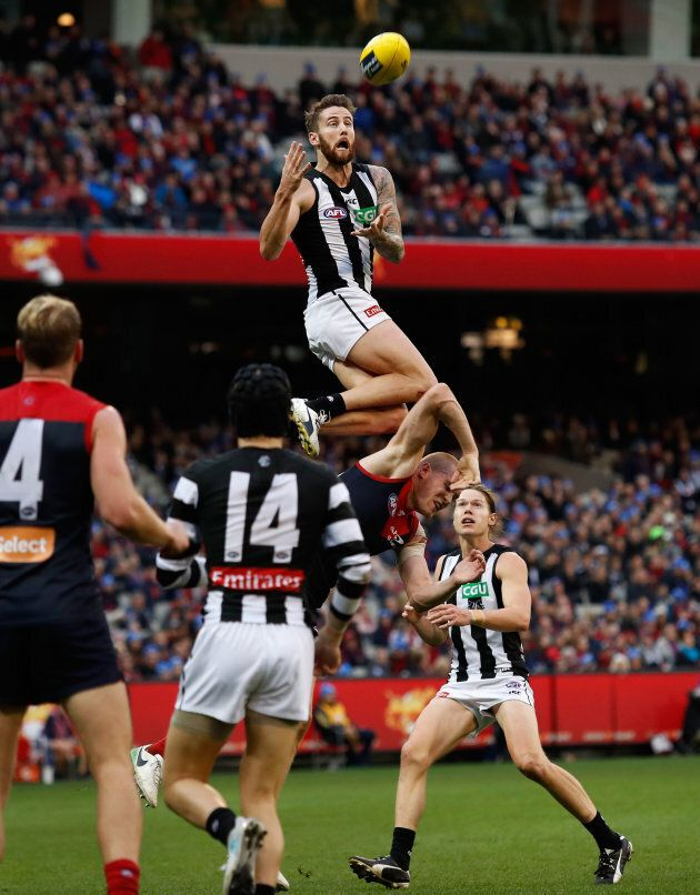 His coaches reckoned he was 3-4 metres off the ground, but we think 2 metres is a little closer to the, ahem, mark.