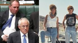 Malcolm Turnbull Reckons He And Barnaby Joyce Are 'Thelma And
