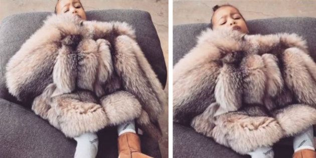 North West Does NOT Like Getting Her Picture