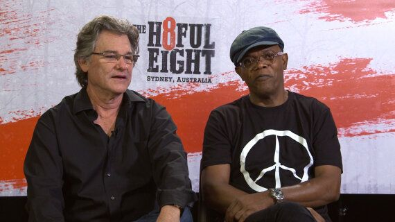 Samuel L. Jackson and Kurt Russell Talk 'The Hateful
