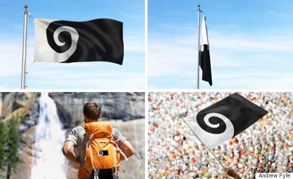 New Zealand Flag Redesign Features Silver Fern Over Union