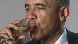 Everyone's Thinking About Obama Drinking His Own