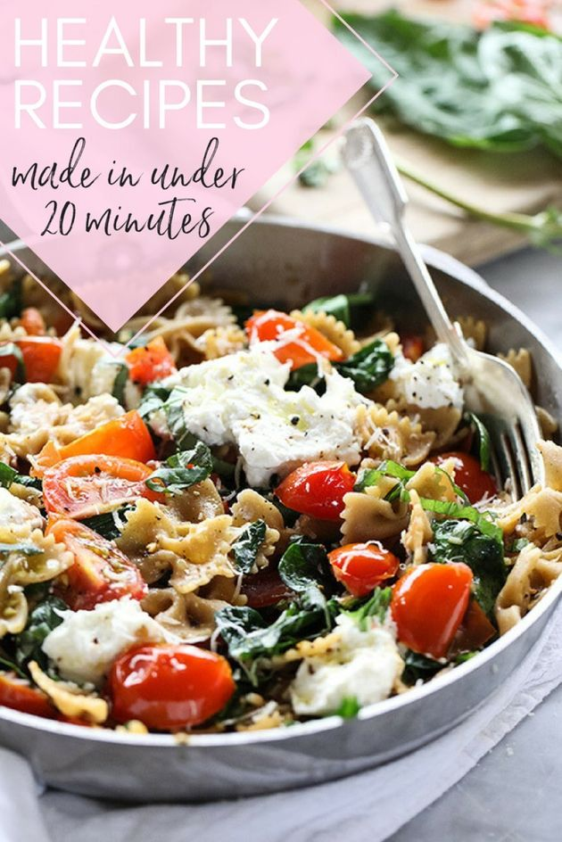 These Healthy Recipes Take Under 20 Minutes To