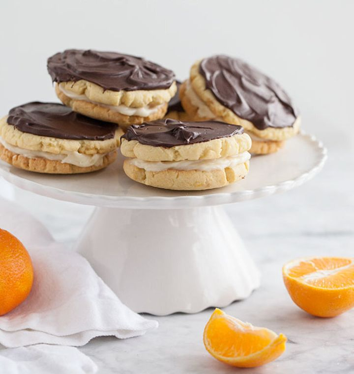 The zesty orange cuts through the sweetness, giving these cookies a refreshing twist.