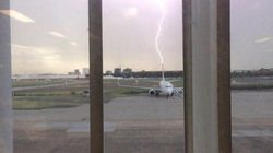 Lightning Does Strike Twice, At Sydney Airport