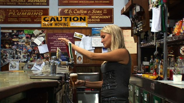 Abuse on tap: the women working the bar dodge a barrage of harassment on a working