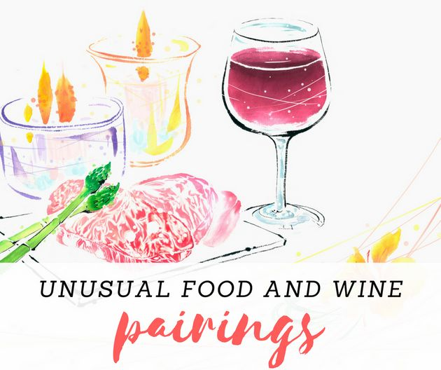 Weird Wine And Food Pairings That Actually