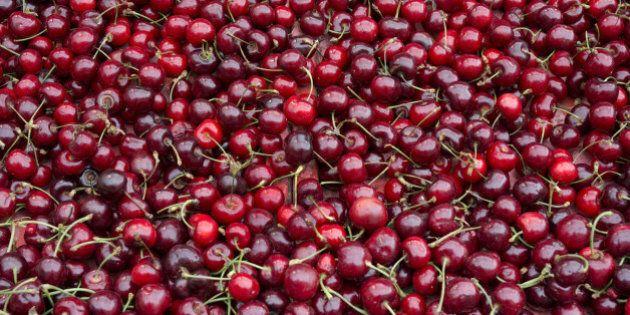 Seasonal cherries