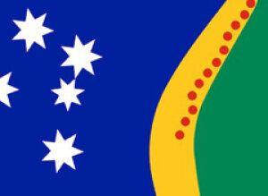 Australian Flags Through The