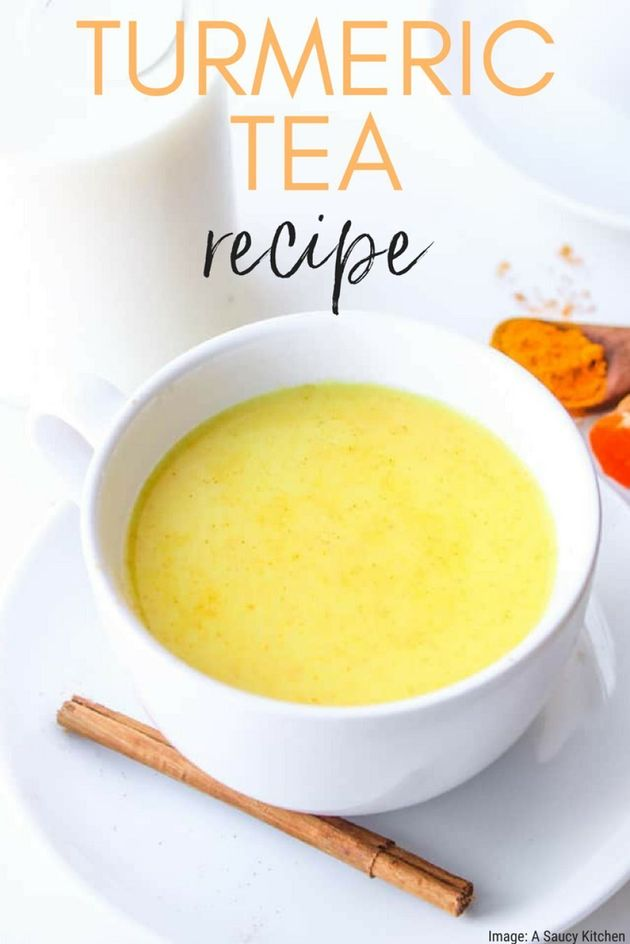 How To Make Delicious Turmeric Tea (Golden