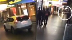 Driver Rams Shops, Narrowly Misses People In Late-Night Melbourne