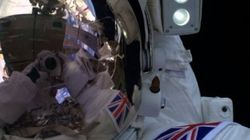 First Briton To Walk In Space Posts Epic
