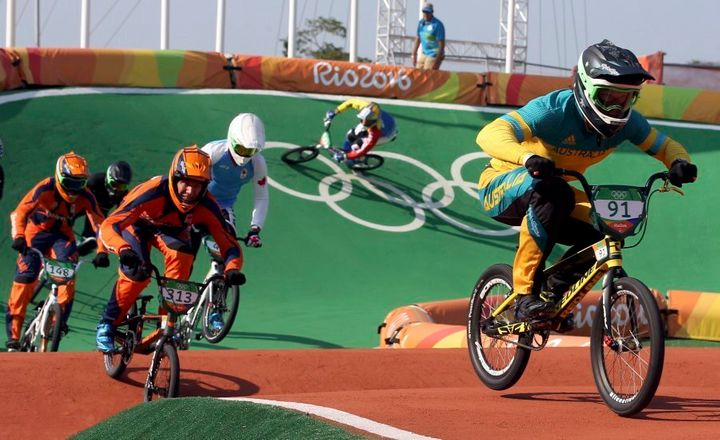 This is the position Willoughby was for pretty much every race in Rio before the final.