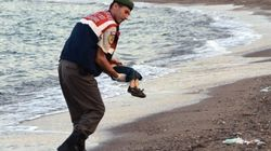 Shocking Image Captures The Horrific Toll Of Europe's Refugee