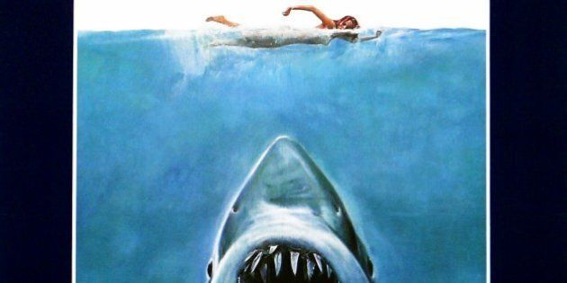'Jaws' a 1975 American Thriller film starring Roy Scheider. (Photo by: Universal History Archive/UIG...