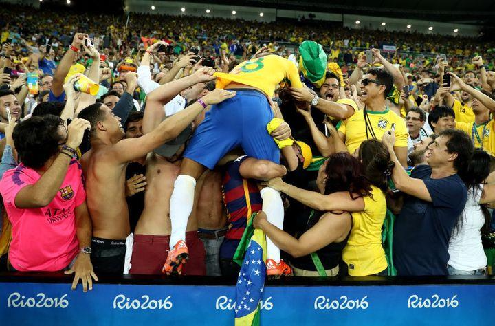 We are all Brazilian tonight.