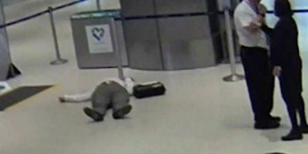 United Airlines Worker Shoves Older Passenger At Houston