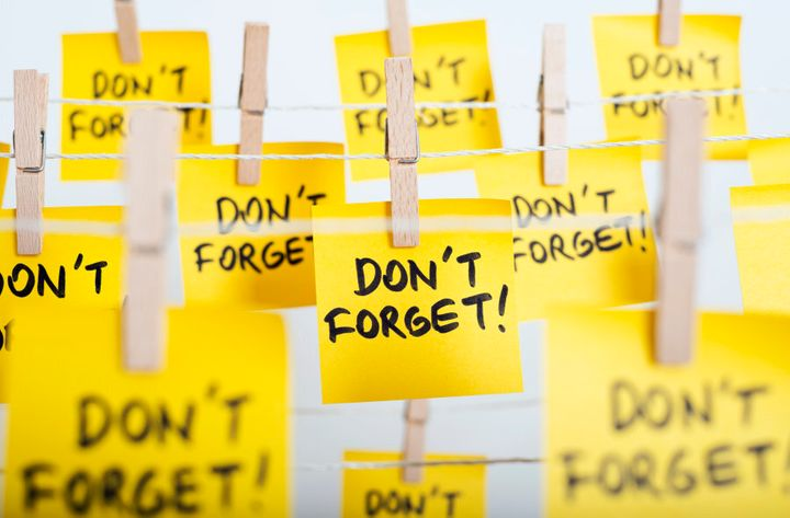 Don't forget what?