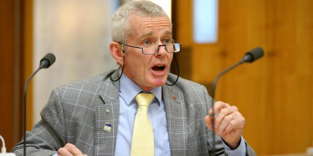 One Nation Senator Malcolm Roberts gave the Greens