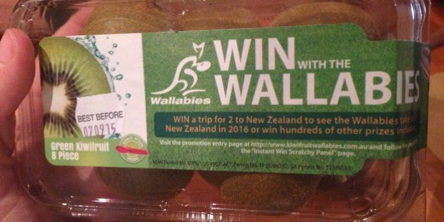 Kiwi Fruit Commits Treason By Supporting The
