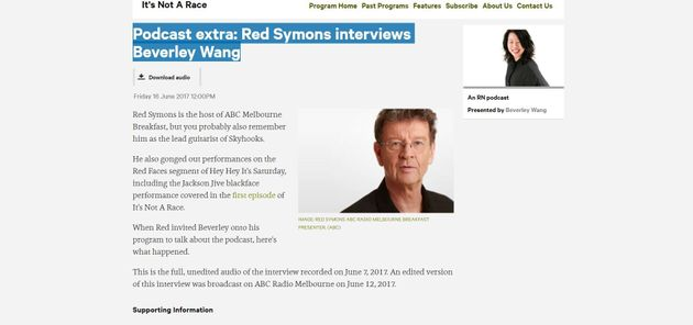 Red Symons Asks 'What's The Deal With Asians?' In Controversial