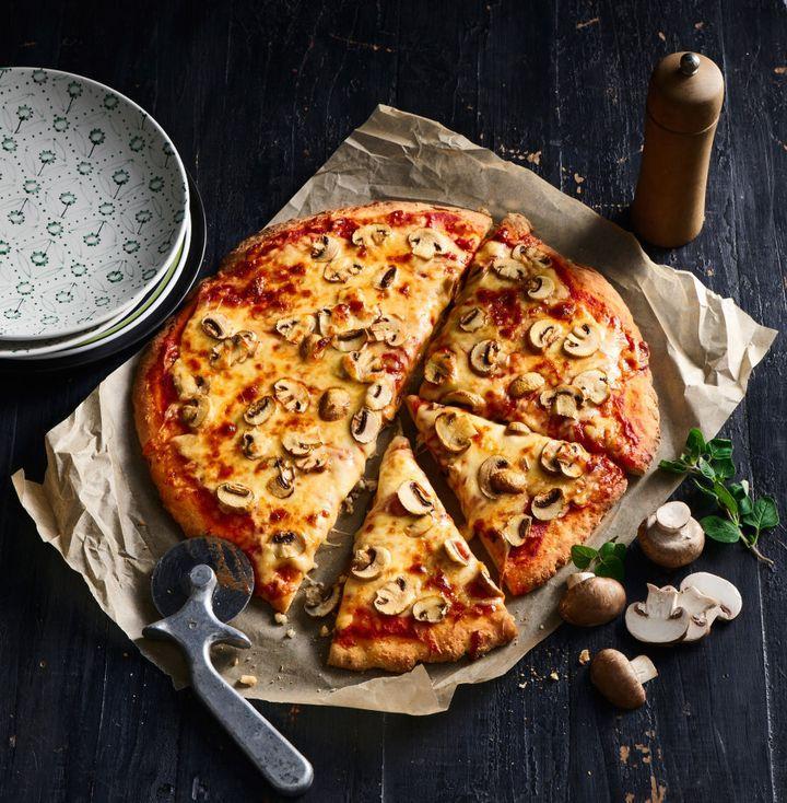 Nothing beats fresh, cheesy pizza.