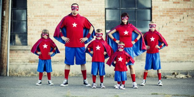 Watch out. This family of superheroes is going