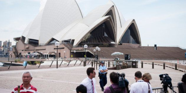 Teen Charged After Opera House