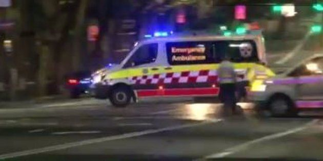 A young man has died after being struck by a bus in