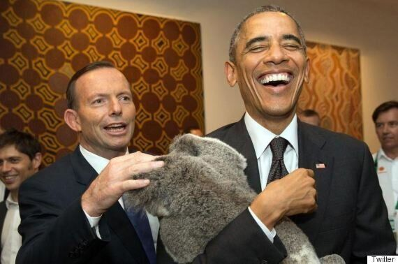 Patient POTUS Meets With Another Australian Prime
