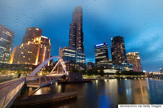 Melbourne In The Rain: Photos Reveal Its Beauty No Matter The