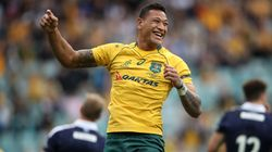 Scotland Triumph Over Wallabies Despite Izzy Folau Soaring To New