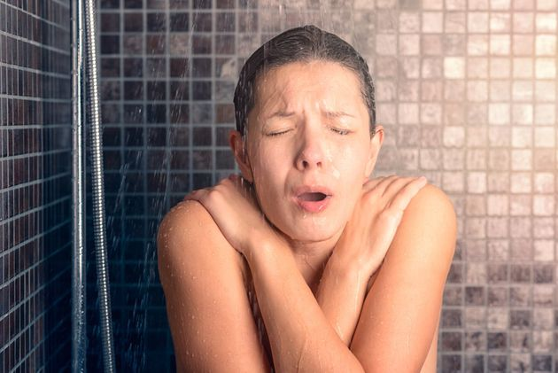 Take a cold shower. Your hair (and heating bill) will thank