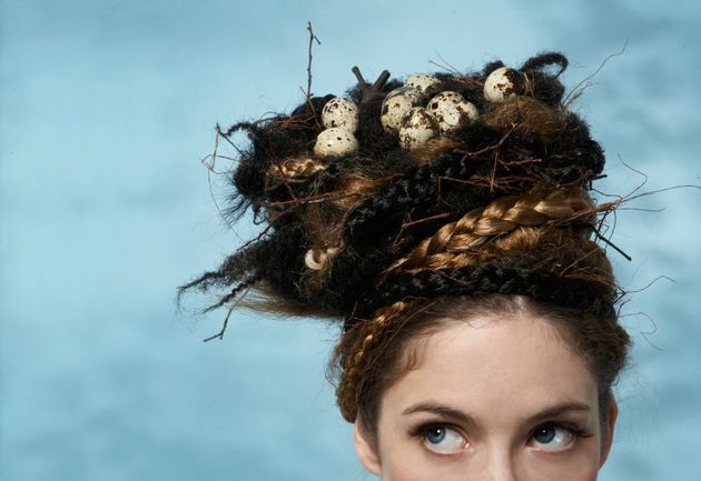 FYI, this is not what we meant about egg being used for hair
