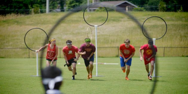 FAIRFAX, VA- JUNE 29: QuidCon is the annual conference of the IQA (International Quidditch Association...