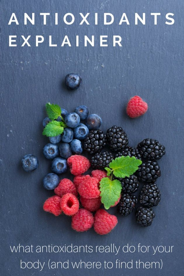 What Are Antioxidants,