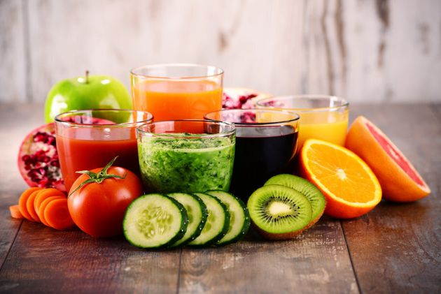 Try smoothies, salads and juices to help boost your nutrient