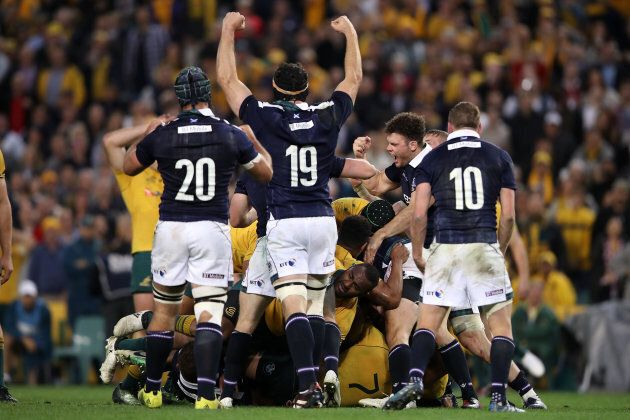 The Wallabies were crushed by Scotland on the weekend -- just the third time in 35 years.