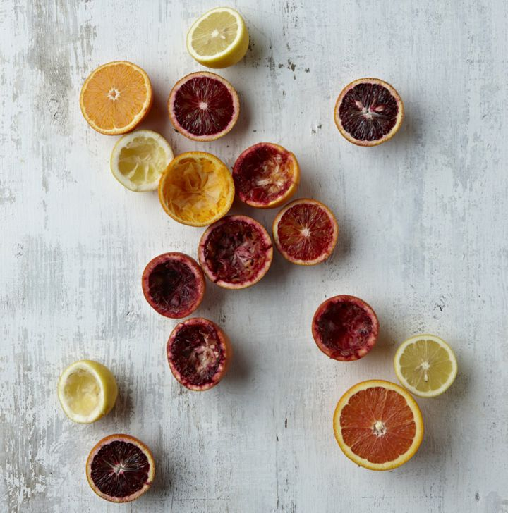Blood oranges, mandarins, lemons, limes, tangelo... There's a whole range of citrus you can enjoy.