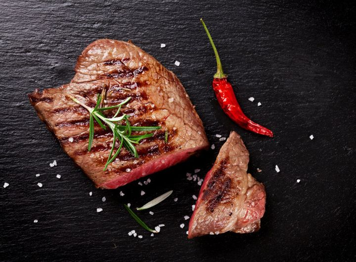 Red meat is one of the highest sources of iron.