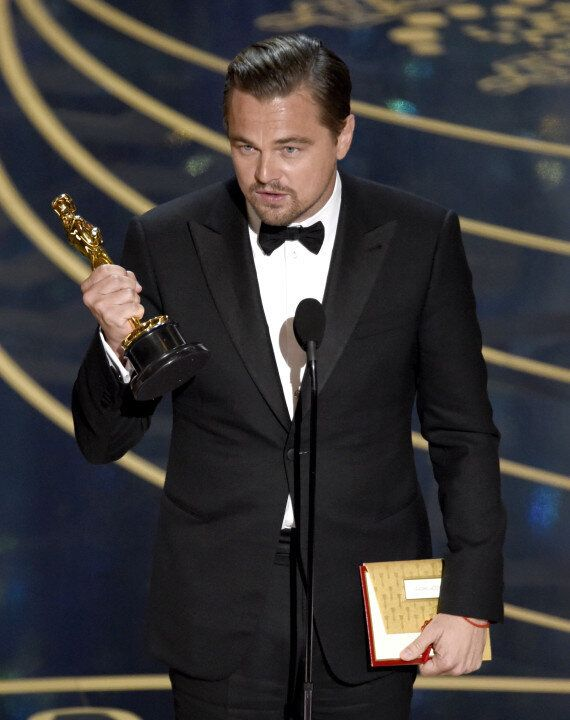 Leonardo DiCaprio Nearly Left His Academy Award Behind At An Oscars After-Party In West