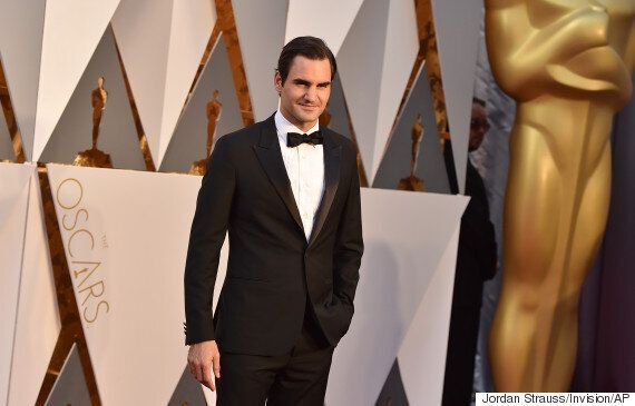 Oscars Red Carpet: Roger Federer Did A Tequila Slammer. Because He's Roger
