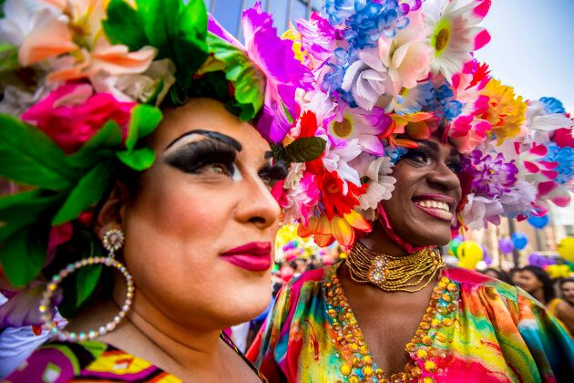 It was the 21st Annual Sao Paulo Gay Pride Parade